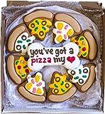 Wfers Pizza My Heart Handmade Hand-Decorated Dog...