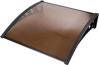 1m x 2.4m DIY Window Door Awning Canopy Patio UV Rain Outdoor Cover Sun Shield