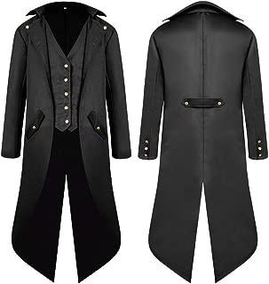 Suchergebnis auf für: gothic mantel herren: Bekleidung