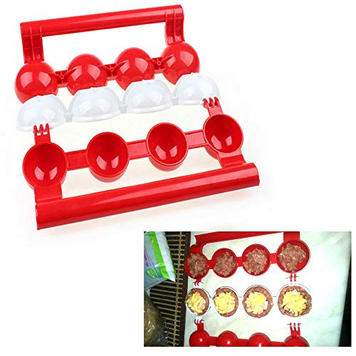 Meat Balls Fish Balls Kitchen Homemade Stuffed Meatballs Maker Home Cooking Tools for Fruits,...