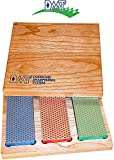 Best Diamond Sharpening Stones - 3-6-in. Diamond Whetstone Models Sharpener in Hard Wood Review