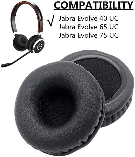 1 Pair Of Ear Pads Cushion Cover Earpads Earmuff Replacement For Jabra Evolve 20 30 40 65 75 Headset Buy Online In Sri Lanka Ydybzb Products In Sri Lanka
