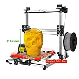 Crazy3DPrint CZ-300 DIY 3D Printer (11.8' x 11.8' x 11.8' Built Size, PETG/PLA/ABS/Carbon Fiber PLA/Metallic PLA, Heated Print Bed) Certified Power Supply