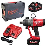 Milwaukee Schlagschrauber FUEL M18 ONEFHIWF1-802X 2x 8,0 Ah + Lader in HD-Box