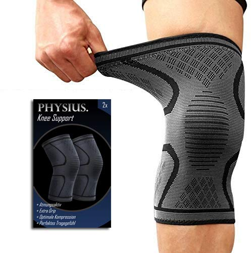 PHYSIUS. Kniebandage Volleyball Knieschoner (L)