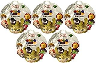 Jakks Pacific Toys - Marvel Tsum Tsum Series 2 - MYSTERY PACKS (5 Pack Lot)