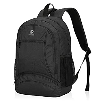Hynes Eagle Kids School Backpacks Elementary Schoolbags Bookbags Black
