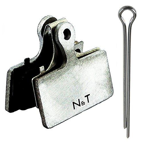 Noah And Theo NT-BP006/SMAL - Pastillas de freno de disco semimetálicas para...