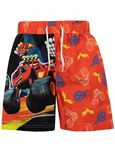 Blaze und die Monster-Maschinen Jungen Blaze and The Monster Machines Badeshorts Rot 104
