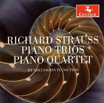 Strauss, R.: Piano Trios Nos. 1 and 2 / Piano Quartet in C Minor