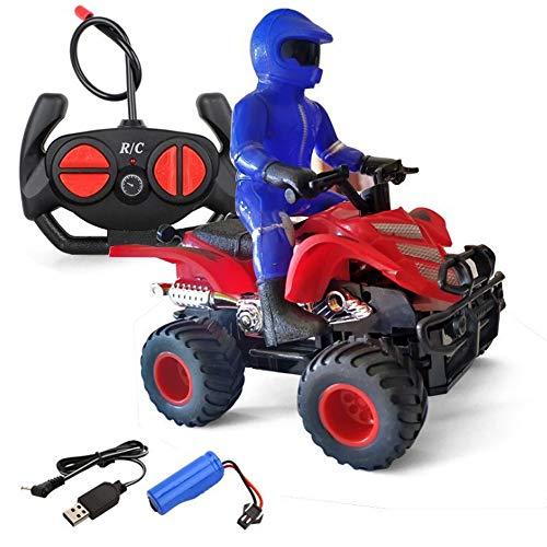 Darenbp Juguete RC para niños RC Drift Racing de motor de alta velocidad de control remoto Vespa del ciclomotor Autobike Stunt campo a través Vehículo camiones fuera de carretera de vehículos que sube