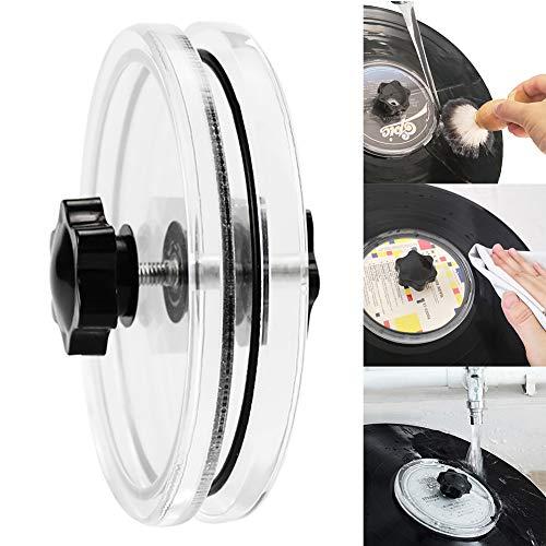 LP Vinyl Schallplatten Label Saver Vinyl Schallplatten Reinigungsschutz Acryl Wasserdicht Label Saver Schallplatten Reiniger Klemme Pflege Geschenke für Plattenliebhaber