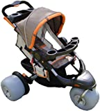 The Baby Bug Aluminium Beach Jogger Child Beach Stroller