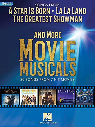 Songs from A Star Is Born, The Greatest Showman, La La Land, and More Movie Musicals (English Edition)