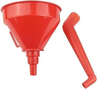 NANAD Kraftstofftrichter Orange Zubeh/ör Auto Mesh Filter /Öl Wasser Dose Universal Abnehmbare langlebige Werkzeuge Flexibler Schlauch Auslauf