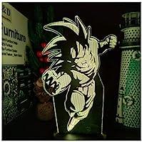 3Dイリュージョンナイトライト ゲームアニメーションキャラクター キッズ3Dイリュージョンランプキッズナイトライト7色変更スマートタッチおもちゃパーティー用品女の子の誕生日プレゼントのアイデア男の子