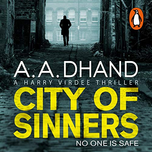 City of Sinners audiobook cover art