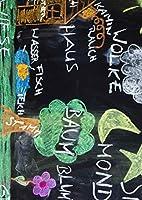 igsticker ポスター ウォールステッカー シール式ステッカー 飾り 1030×1456㎜ B0 写真 フォト 壁 インテリア おしゃれ 剥がせる wall sticker poster 006923 その他 黒板 チョーク 英語