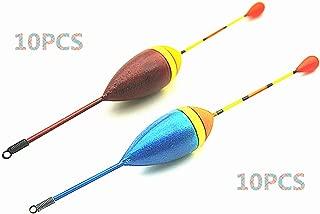 Toasis 10pcs Fishing Slip Bobbers Cork Drift Floats