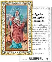 Hail Mary Gifts 1pc, Prayer to Saint Agatha HOLY Card