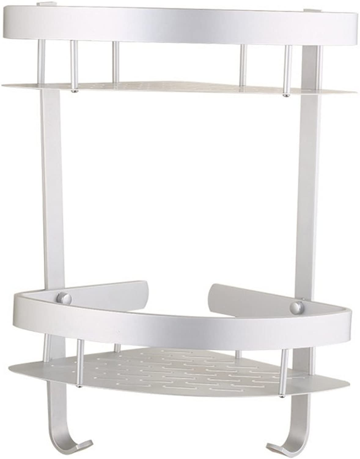 Bathroom Double Rack, Toilet Triangle Storage Rack, Bathroom Accessories.