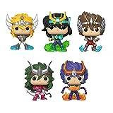 Funko Pop! Bundle of 5: Saint Seiya - Cygnus Hyoga, Dragon Shiryu, Pegasus Seiya, Andromeda Shun and Phoenix Ikki