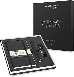 Moleskine Smart Writing Set Ellipse and Pen + Ellipse Smartpen Notebook with Black Hard Cover - Black