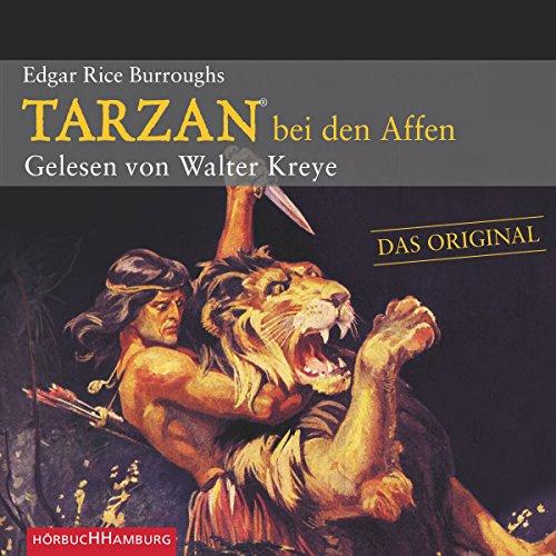 Tarzan bei den Affen audiobook cover art