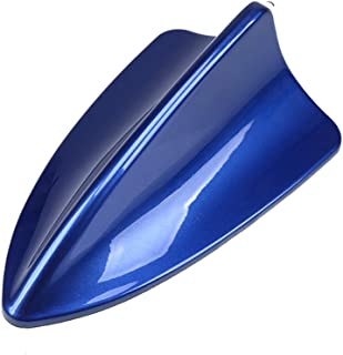 Universal Car Auto Shark Fin Roof Antenna Radio Decorate Aerial Cover (BLUE) by Folconroad [US Warehouse]