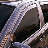 ClimAir P0097 Dark Deflectores de Aire Negro Compatible con Opel Vivaro 2019