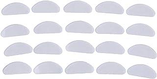 Coussinets de nez 10pcs lunettes nez coussinets de nez de nez de nez de nez en silicone antidérapant blanche antidérapant ...
