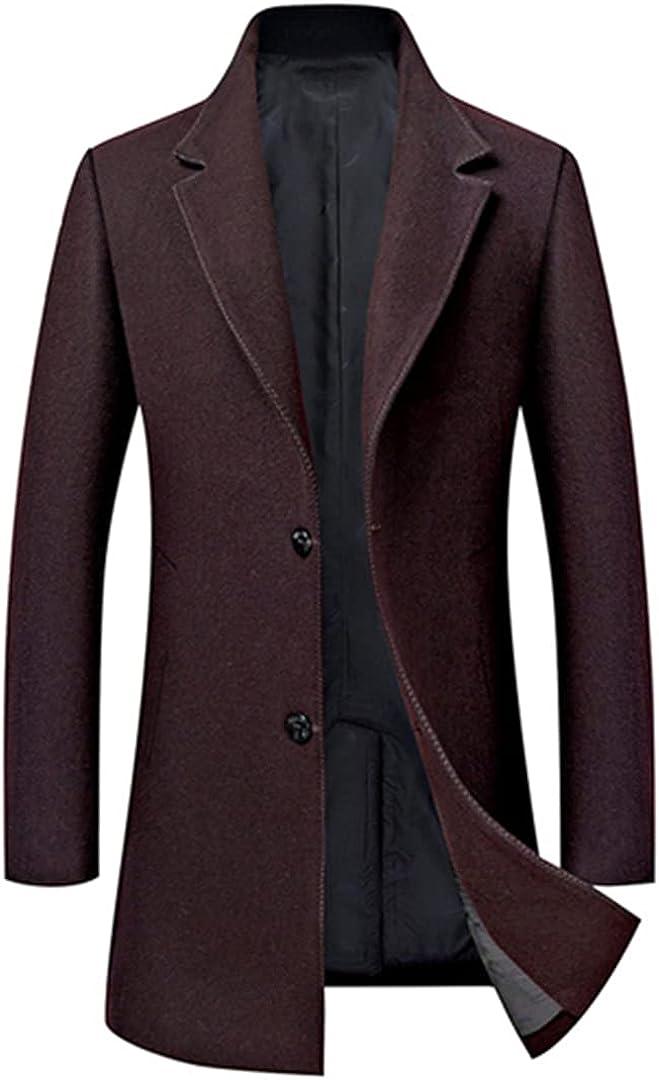 Winter Jacket Men Wool Jackets Fashion Outerwear Warm Coat Men's Cashmere Coat