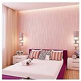 Blooming Wall - Papel tapiz de rayas, clásico, no tejido, la luz de la luna en el bosque,.52.8, 83.3 cm= 5.3 m2 por rollo