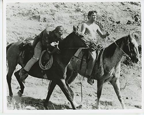 Elvis Presley Shirtless on Horse 8x10 Photo #W0437