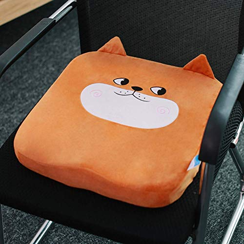 WENYAO Cushion seats Memory Foam sedentary, Thickened cushion, cushion stool, breathable cushion for home Chair,K,40X40X6cm