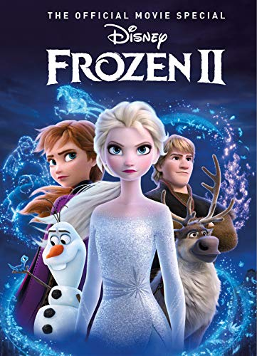 Frozen 2: The Official Movie Special Book