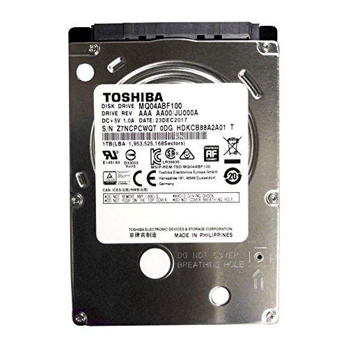 "Toshiba MQ04ABF100, 2.5"", 1000 GB, 5400 RPM #6610"