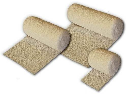 Crepe Bandage 10cm x 4.5m First Aid x 6 Pack