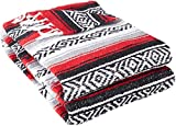 YogaDirect Deluxe Mexican Yoga Blanket, Red