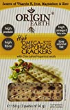 Origin Earth Omega 3 and Chia Seed Cracker 150 g (Pack of 5)
