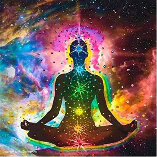 Yingxin34 Rompecabezas 1000 Piezas para Adultos Personas Que Hacen Yoga Rompecabezas Adultos Rompecabezas Fun Fact 26x38cm