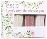Essie Nagellack-Geschenkset 'I can't say I do without you', allure + demure vix + ballet slippers, 3x 13.5 ml