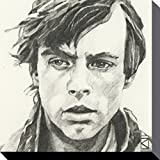 1art1 Star Wars - Luke Skywalker Portrait Zeichnung Bilder