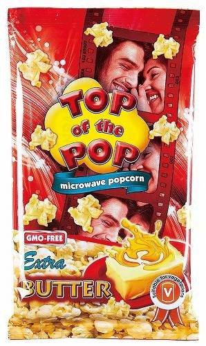 トップオブ ポップコーン バター味 100X15