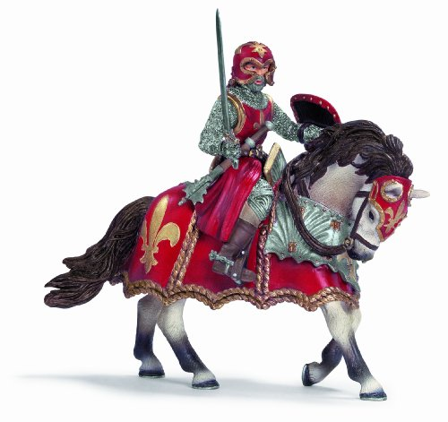 SCHLEICH 70056  - Ritter mit Schwert auf Pferd