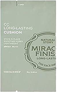 The Face Shop Ink Lasting Cushion with SPF30 Pa++, V103 Pure Beige,