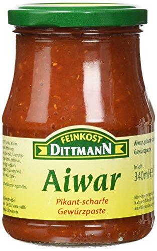 Dittmann Aiwar, Pikant-Scharfe Gewürzpaste, 6er Pack (6 x 340 ml)