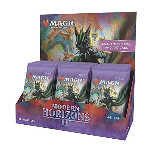 Magic: The Gathering Modern Horizons 2 Set Booster Box | 30 Packs (360 Magic Cards)