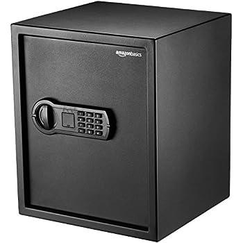 Stash Safe AmazonBasics Home Keypad Safe - 1.52 Cubic Feet, 13.8 x 13 x 16.5 Inches, Black - 42SAM
