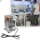 HAIT Mini Enfriador de Temperatura Constante para Pecera, Máquina de Enfriamiento para Acuarios Ensamblado, Sistema Electrónico Inteligente para Refrigeración de Peceras,70W~Cold and Warm